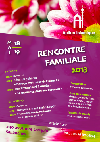 Invitation rencontre familiale